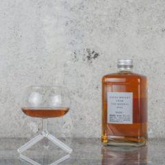 Dutch Design Whisky Glas Driepoot Borosilicaatglas gemaakt door Tsjechie Glasblazers Ontwerp Maarten Baptist