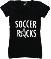 Feyenoord Rotterdam T-shirt feyenoord dames zwart rocks maat 152