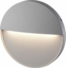 HOFTRONIC™ Dimbare LED Wandlamp Gary - Grijs - 6 Watt - 3000K - IP54 spatwaterbestendig - 3 jaar garantie