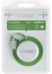 Noizezz Oordopjes Plug And Play Groen F 24db