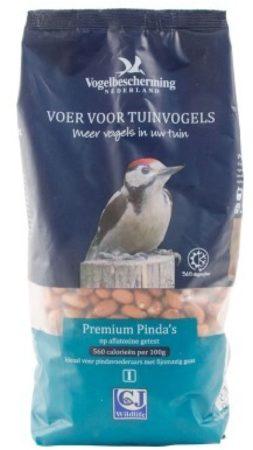 Afbeelding van Vogelbescherming Voedsel Premium Pinda's - Buitenvogelvoer - 1,25 l