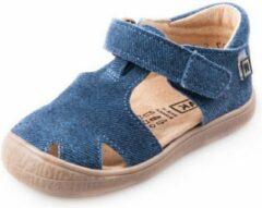 Rak Leren sandalen - jongens/meisjes - blauw/jeans - maat 28