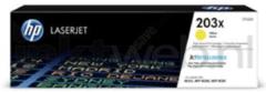 HP Originele 203X high-capacity gele LaserJet tonercartridge (CF542X)