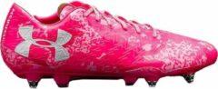 Under Armour - ClutchFit Force 3D 3.0 SG - Voetbalschoenen - Camouflage Roze - Maat 45 - Pink - Voetbalschoenen Heren