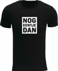 Zwarte Rustaagh Nog eentje dan Heren T-shirt Maat L