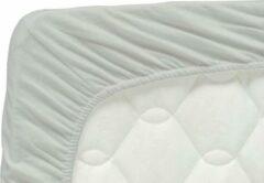 Gebroken-witte Briljant home Briljant Bedmode - Hoeslaken Jersey stretch - 120x200 - Off-white