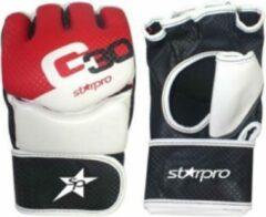 Zwarte Starpro G30 Mma Economy Handschoenen Maat 18oz