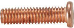 KS Tools Schrauben M4x16mm verkupfert,100-Pack