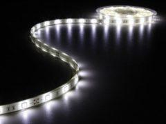 Witte Velleman Flexibele Led Strip - Koud Wit 6500K - 150 Leds - 5M - 12V