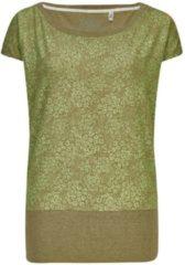 Groene Killtec Dames shirt Dames T-shirt Maat EU40