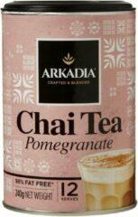 Arkadia Chai Latte Tea Pomegranate (Granaatappel) 240gr. Powder Cafe Beverage