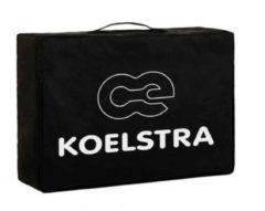 Zwarte Koelstra matras reisbed travelsleeper T5