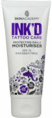 Skin Academy INK'D Tattoo Care Moisturiser SPF15 100ml.