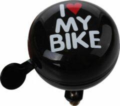 Cycle Tech Fietsbel I Love My Bike Zwart 60 Mm