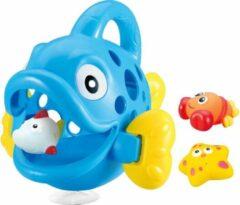 Jamara Badspeelgoed Hungry Fish Blauw Junior 23 X 23 X 20 Cm