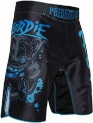 Blauwe Pride or Die PRiDE of DiE Fight Short Ronin Black Blue maat M - Jeans Maat 32