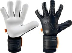 Witte RWLKUhlsport RWLK One Touch Black White - Keepershandschoenen - Maat 8