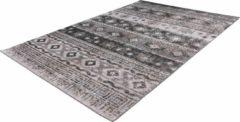 Ariya Kelim design vloerkleed Grijs200cm x 290cm
