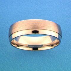 Huiscollectie TFT Ring A206/A310/A312 - 6 Mm - Zonder Steen Zilver Gerhodineerd