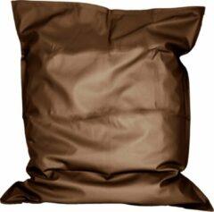 Zitzak Leatherlook Brons met binnenzak maat 110x140 cm
