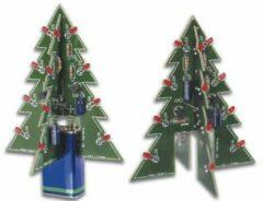 Velleman MK130 LED-kerstboom Bouwpakket 9 V/DC, 12 V/DC