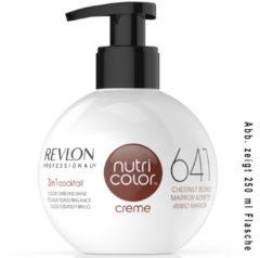 Revlon Professional Haarpflege Nutri Color Creme 641 Kastanie Dunkelblond 50 ml