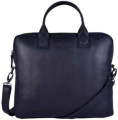 Zwarte DSTRCT Fletcher Street Business Laptop Bag Black 11-13 inch