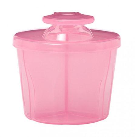 Afbeelding van Dr. Brown's Dr.Brown's melkpoederdispenser - Voor op reis - roze