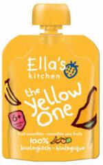 Ella's kitchen Knijpzakje Fruit Smoothie 6+ m Banaan Appel Mango Abrikozen 90 gr