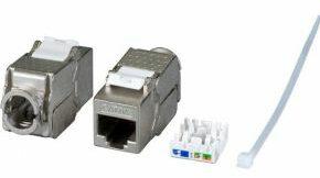 Afbeelding van EFB Elektronik RJ45-inbouwmodule Keystone CAT 6A
