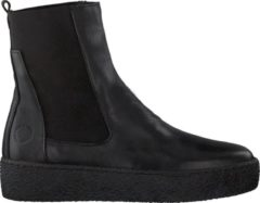Cashott Ca'Shott Dames Chelsea boots 22122 - Zwart - Maat 38