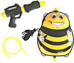 Funny Toys Waterpistool Met Tank 35,5 Cm Geel/zwart 5-delig