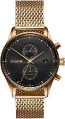 MVMT MVTM Voyager Eclipse D-MV01-G2 - Horloge - Staal - Goudkleurig - 42mm