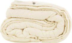 Gebroken-witte Slaap Vaak Luxe 4-Seizoenen Wollen Dekbed - 100% Schapenwol - 240x220 cm