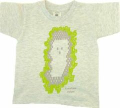 Antraciet-grijze B & C Anha'Lore Designs - Spookje - Kinder t-shirt - Antraciet - 3/4j (98/104)
