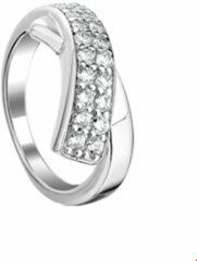 Quickjewels huiscollectie Huiscollectie 1314030 Zilveren zirkonia ring
