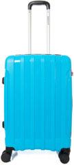Blauwe Decent X-Motion Trolley 67 aqua Harde Koffer
