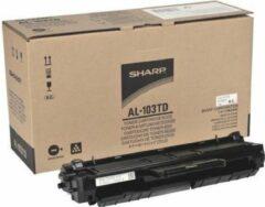 Zwarte Sharp AL-103TD laser toner & cartridge