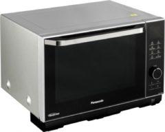 Zwarte Panasonic NN DS 596 MEPG - Vrijstaande magnetron