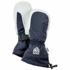 Blauwe Hestra - Women´s Heli Ski Mitt - Handschoenen maat 5 zwart/blauw/grijs