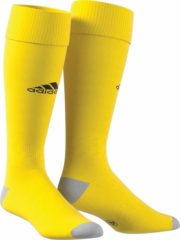 Gele Adidas Milano 16 Sportsokken - Maat 43-45 - Unisex - geel/zwart/grijs