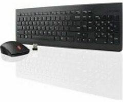 Lenovo 4X30M39461 RF Draadloos AZERTY Frans Zwart toetsenbord
