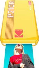 Gele Kodak Mini 2 retro printer yellow