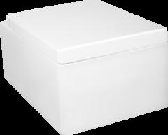 Kerra Thor hangend toilet met softclose zitting wit