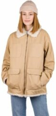 Creme witte Empyre Lila Jacket bruin