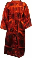 Rode Essenza Dames Nachtmode kimono Maat M