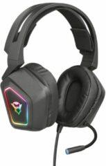 Trust GXT 450 Blizz   7.1 Gaming Headset   RGB verlichting   PC   Surround sound   USB   Zwart