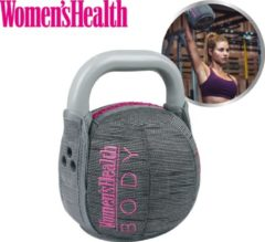 Roze Women's Health Women's health soft kettlebell, 6 kg – perfect voor intensieve cardio- en krachttraining