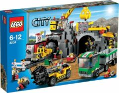 Gouden LEGO City De Mijn - 4204