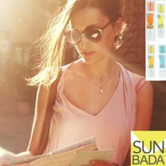 Sunbada (finally safe tanning) SET: Anti zonnebrand + Aftersun v. man vrouw peuter en baby!